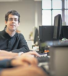 Bruno Ledesma, cientista da computação. Foto Raphael Gunther/Valor