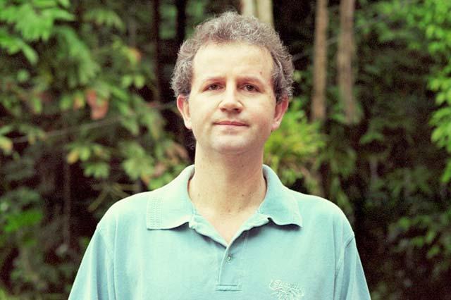 Germano Woehl Júnior, fundador do Instituto Rã-bugio para Conservação da Biodiversidade.
