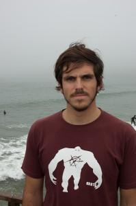 Rômulo Monteiro, estudante de Oceanografia da Univali. Foto: Eugênio Andreoli/Coletivo Catarina