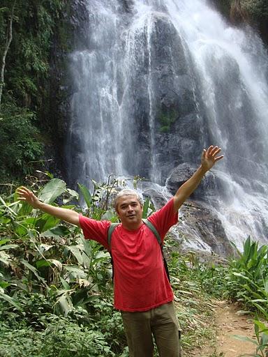 Cachoeira do Salto, em São Bonifácio, SC