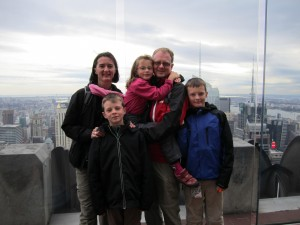 Família Chambe-Eng em NY