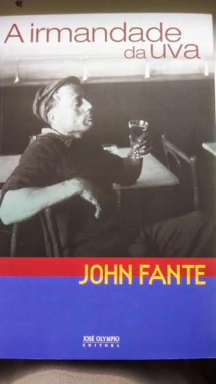 John Fante - A irmandade da uva. Capa de livro.