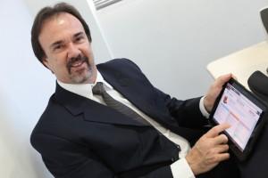 Luiz Carlos Mesquita Scheid, da Teclógica: redução de até 50% nas horas de retrabalho