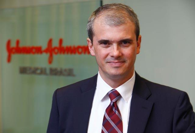 """Márcio Coelho, presidente da Johnson&Johnson Medical Brasil: """"Temos um projeto de expansão para levar a presença da nossa tecnologia a outras regiões"""""""