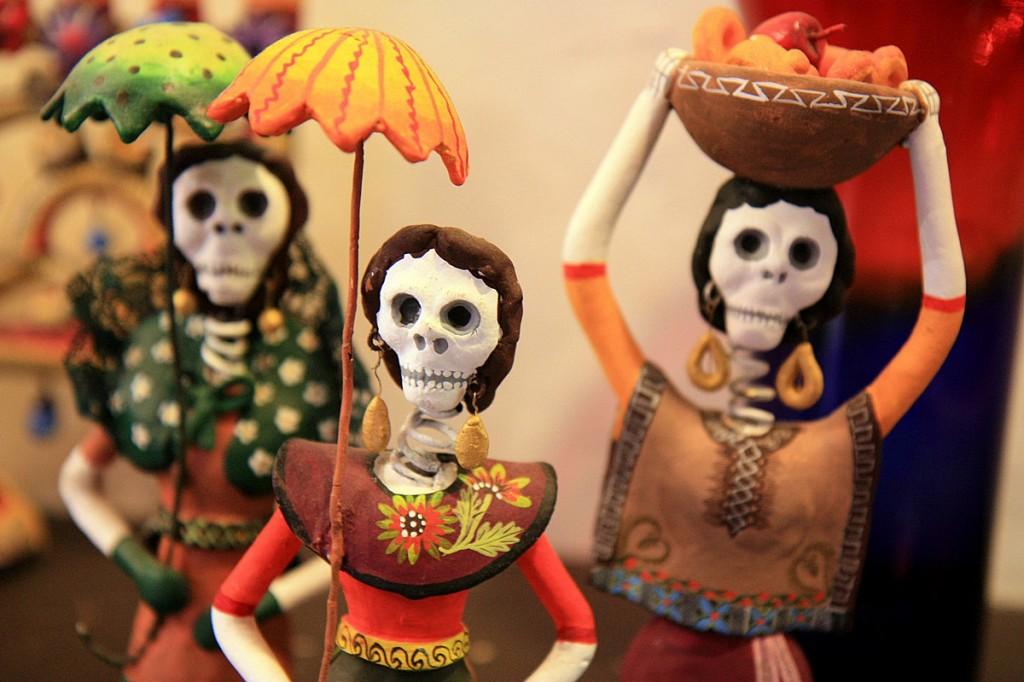 Dia dos Mortos no México. Foto de Barney Moss/Creative Commons